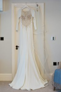Wedding Dress: wedding furniture hire client