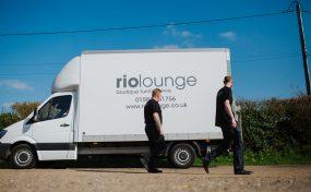 Rio Lounge furniture hire van