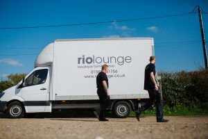 Rio Lounge furniture hire van
