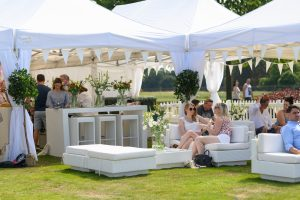 vip lounge furniture hire outdoor food festival