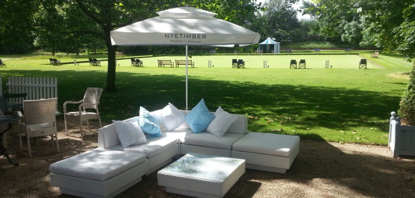 sofa hire tennis tournament