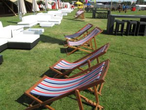 festival furniture hire at V