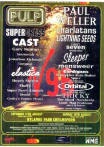 V96 festival lineup
