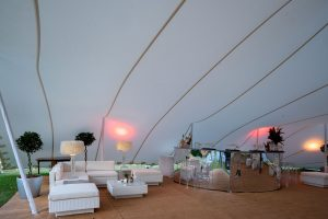 wedding furniture hire: marquee