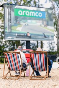 furniture hire for events: drive in cinema night