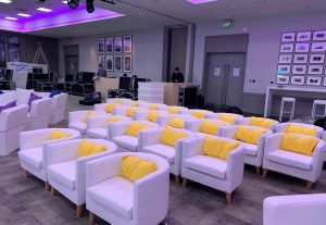 events furniture hire for conference
