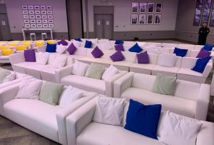 event sofa hire for conference