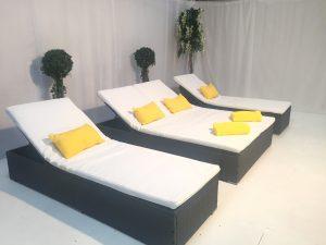 portofino sunbeds for hire