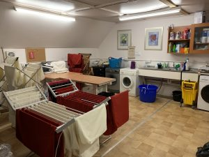 outdoor furniture hire washing room