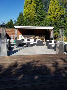 outdoor furniture hire pub garden style