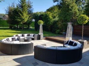 outdoor furniture rental pub garden style