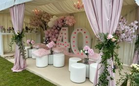 garden furniture to hire in marquee